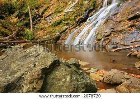 Rocky Falls - stock photo