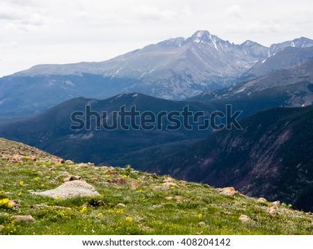 Rocky Mountain National Park, USA - stock photo