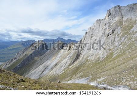 Rocky Mountain Ridge - stock photo