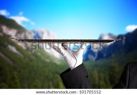 rocky mountain service - stock photo