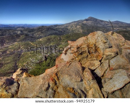 Rocky summit top
