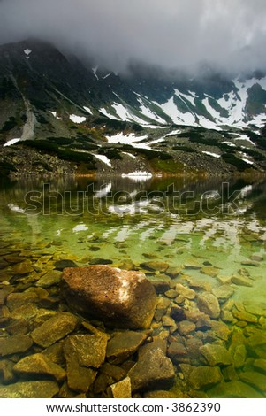 Rocky Water in the Misty Mountains