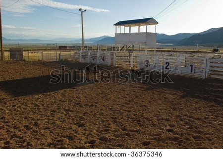 Rodeo Arena Stock Images Royalty Free Images Amp Vectors