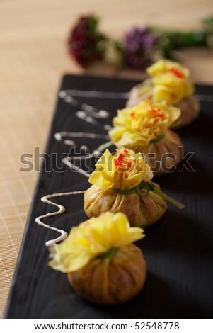 Roe dumpling - stock photo