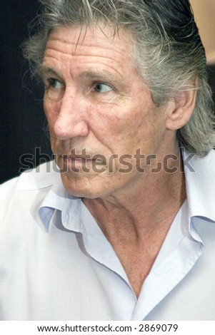 Roger Waters Pink Floyd - stock photo