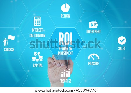 ROI TECHNOLOGY COMMUNICATION TOUCHSCREEN FUTURISTIC CONCEPT