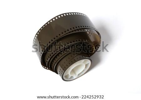 roll  film  - stock photo