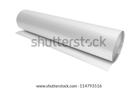 Roll of glass cloth