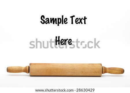 Rolling-Pin - stock photo