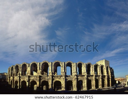 Roman Arena in Arles, Provence, France, UNESCO