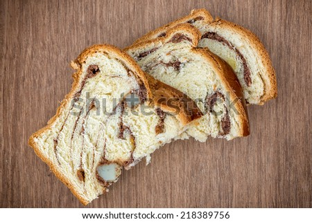 Romanian traditional sponge cake - stock photo