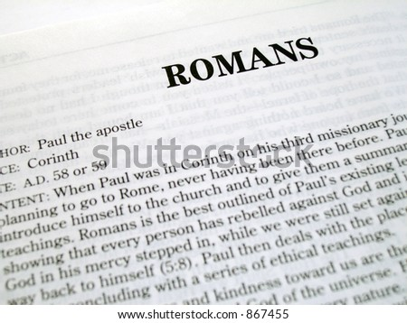 Romans Book Of The Bible