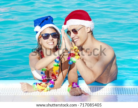 Swimming Pool Girl In Christmas Vacation