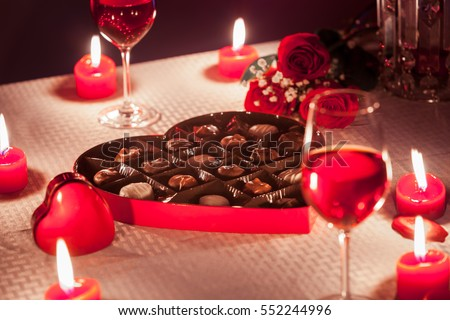 stock photo romantic date night setting with box of chocolate s roses valentine s day gift concept 552244996 - Thinking About Uncomplicated Products Of Top Mail Order Bride Sites