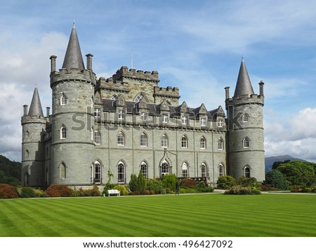 Romantic Scottish Castle