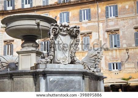 Rome Ancient Architecture - stock photo