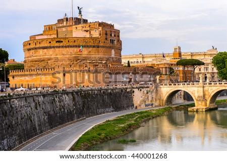 Rome Italy May 7 2016 Castle Stock Photo 440001268