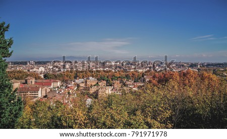 Rome Italy November 2017 Panoramic Views Stock Photo 791971978 ...