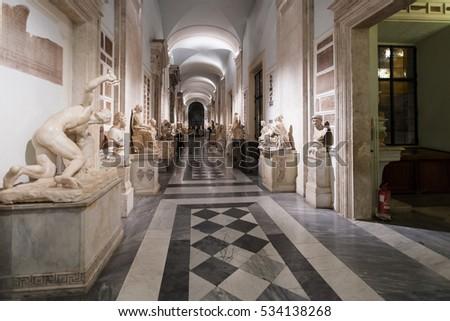 rome italy october 31 2016 interior stock photo royalty free
