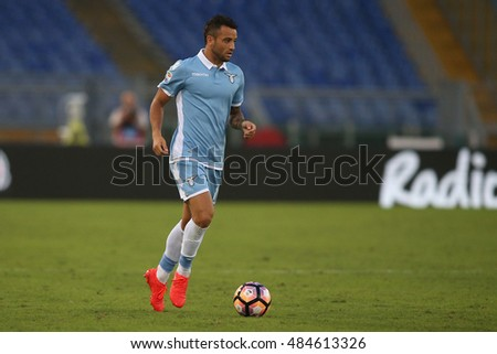 Rome, Italy 17 september 2016:   Anderson in action during the italian Serie A league match between As Lazio and Pescara at Olimpic Stadium on Seprember 17, 2016 in Rome  Italy.