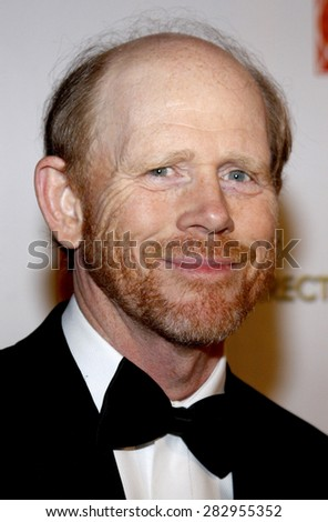 Ron Howard at the 13th Annual Art Directors Guild Awards held at the Beverly Hilton hotel in Beverly Hills on February 14, 2009.