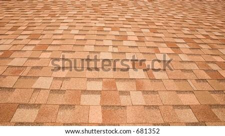 Roof shingles pattern