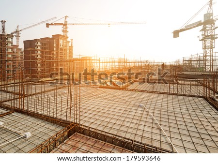 Roof structure,construct ion - stock photo
