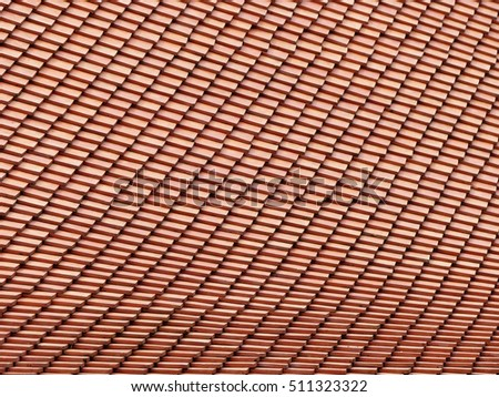 roof tile pattern and texture