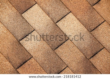 roof tiles background - stock photo