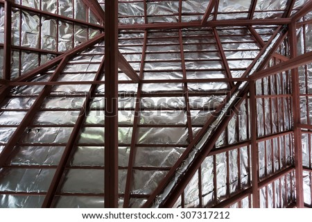 Roof Insulation Stock Images Royalty Free Images