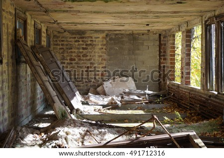 Room in Abandoned Building