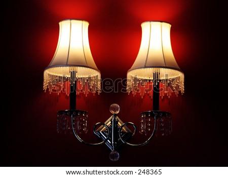 Room lamps - stock photo