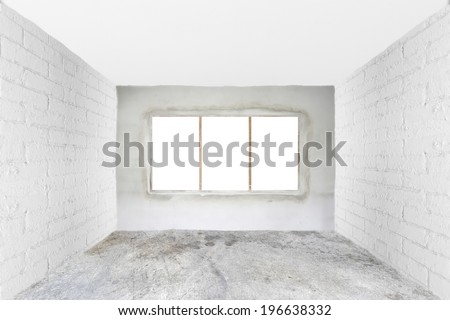 Room under construction - stock photo