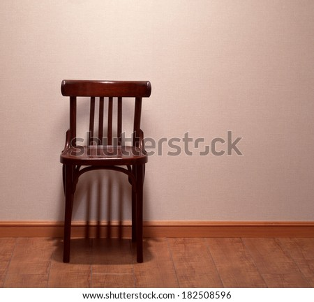 room with chair, - stock photo