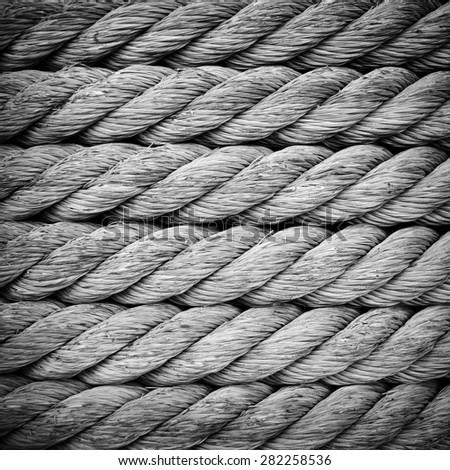 rope background - stock photo