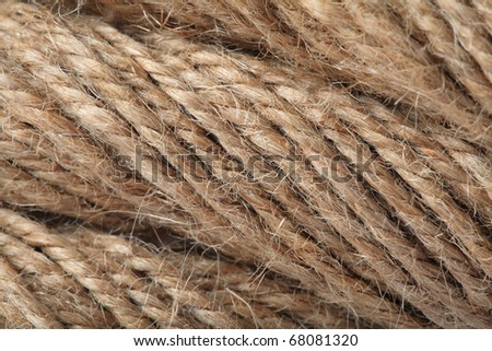 rope texeture in super close-up - stock photo