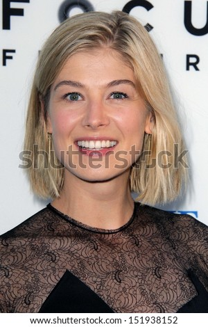 "Rosamond Pike at ""The World's End"" Los Angeles Premiere, Cinerama Dome, Hollywood, CA 08-21-13"