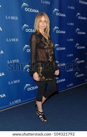 Rosanna Arquette at the La Mer and Oceana World Oceans Day Gala. Private Residence, Los Angeles, CA. 06-08-09