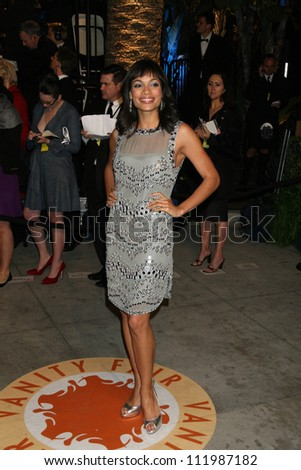 Rosario Dawson at the 2007 Vanity Fair Oscar Party. Mortons, West Hollywood, CA. 02-25-07