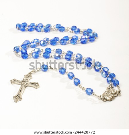 Rosary isolated