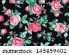 Rose fabric background  - stock