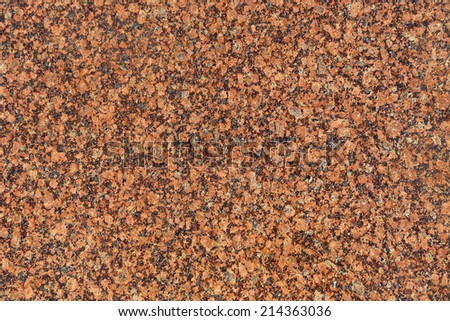 Rose granite closeup background - stock photo