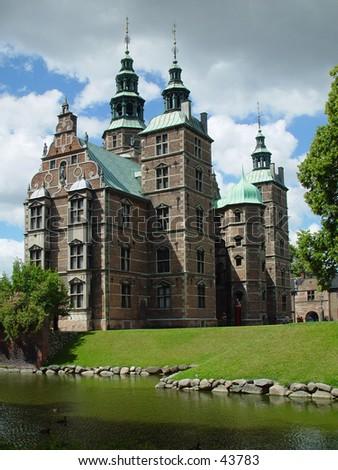 rosenborg castle - stock photo