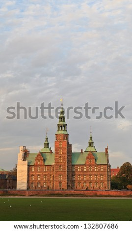 Rosenborg Castle in Copenhagen - stock photo