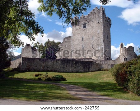 Ross Castle, Cork, Ireland - stock photo