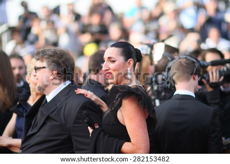 Rossy de Palma attends the opening ceremony and 'La Tete Haute' premiere during the 68th annual Cannes Film Festival on May 13, 2015 in Cannes, France.