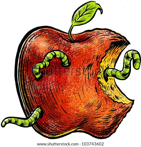 Rotten Apple Stock Images, Royalty-Free Images & Vectors ...