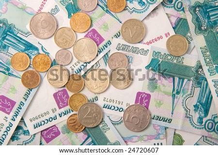 roubles - stock photo