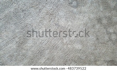 Rough Concrete Floor With Detail And Texture