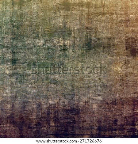 Rough grunge texture. With different color patterns: brown; gray; green; purple (violet) - stock photo